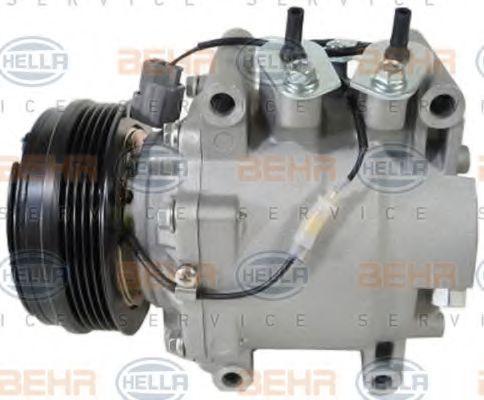Compresor de Aire Acondicionado 8FK 351 322-941 HELLA 8FK 351 322-941 en calidad original