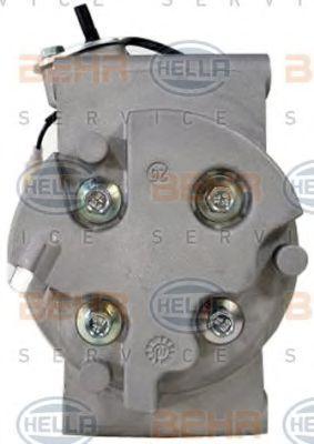 Compresor de Aire Acondicionado HELLA 8FK351322-941 conocimiento experto