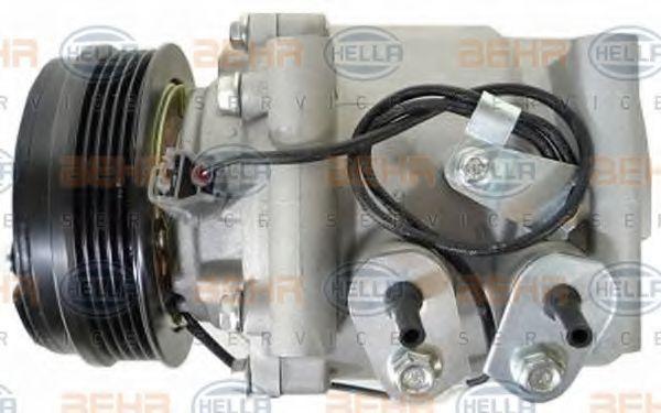 Compresor de Aire Acondicionado HELLA 8FK 351 322-941 4045621417222