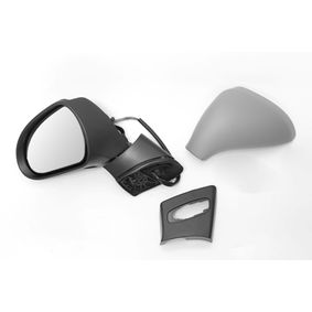 ABAKUS Side view mirror Left, Electric, Convex, Electronically foldable, Heated