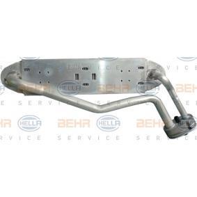 Verdampfer VW PASSAT Variant (3B6) 1.9 TDI 130 PS ab 11.2000 HELLA Verdampfer, Klimaanlage (8FV 351 210-171) für