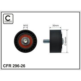 Spannrolle, Keilrippenriemen Breite: 30mm mit OEM-Nummer 17540-67JA0