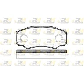 Bremsbelagsatz, Scheibenbremse Höhe: 50mm, Dicke/Stärke: 20mm mit OEM-Nummer 4254.68