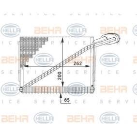 Verdampfer VW PASSAT Variant (3B6) 1.9 TDI 130 PS ab 11.2000 HELLA Verdampfer, Klimaanlage (8FV 351 211-191) für