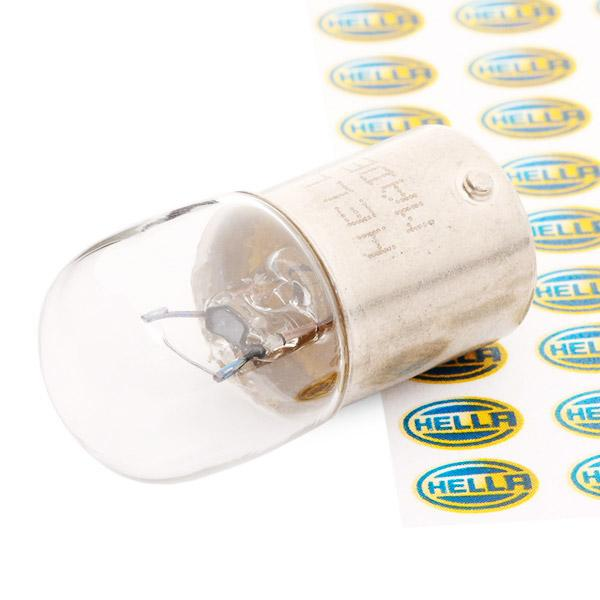 Bulb, licence plate light HELLA R5W12VCP10 expert knowledge