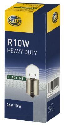 HELLA крушка с нагреваема жичка, светлини на рег. номер  8GA 002 071-271