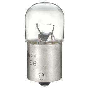 Крушка с нагреваема жичка, светлини на рег. номер R5W, BA15s, 12волт, 5ват 8GA 002 071-351