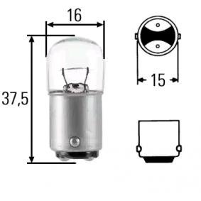 Крушка с нагреваема жичка 8GA 002 071-361 MERCEDES-BENZ VARIO автобус