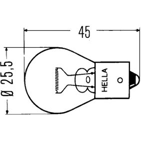 Bulb 12V 21W, P21W 8GA 002 073-137