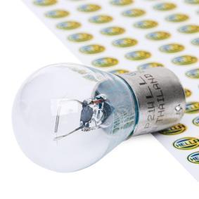 Bulb, indicator P21W, BAY15s, 12V, 21W 8GA 002 073-271 MERCEDES-BENZ C-Class, E-Class, A-Class
