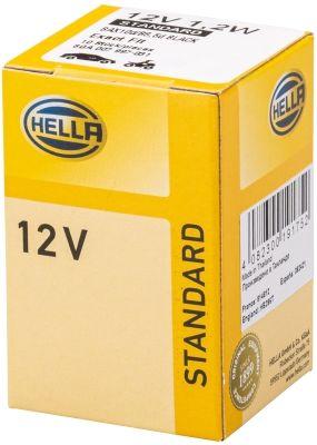 Bulb, instrument lighting 8GA 007 997-031 HELLA 814812 original quality