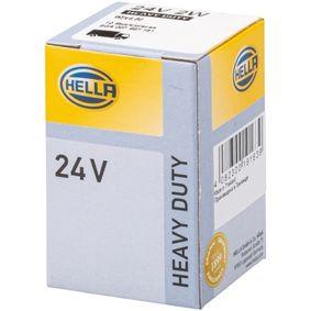 Bulb, instrument lighting W2W, 24V, 2W 8GA 007 997-181