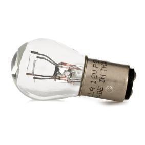 Bulb, indicator 12V 21/5W, P21/5W, BAY15d, Halogen 8GD 002 078-121 FORD FOCUS, FIESTA, TRANSIT