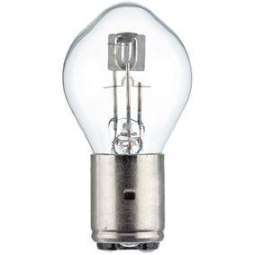 Крушка с нагреваема жичка, главни фарове S2, BA20d, 45/40ват, 24волт 8GD 002 084-251