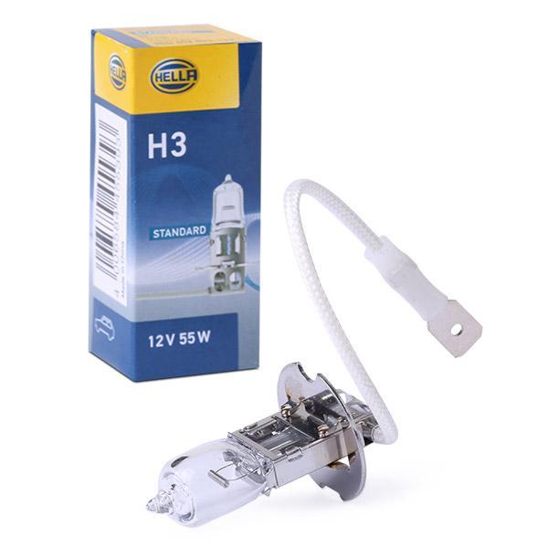 Glühlampe, Arbeitsscheinwerfer 8GH 002 090-133 HELLA H3 in Original Qualität