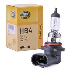 Крушка с нагреваема жичка, фар за дълги светлини HB4, 51ват, 12волт 8GH 005 636-121 VW GOLF, PASSAT, POLO