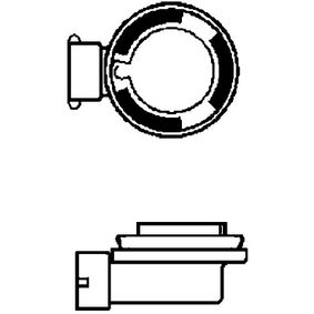 Bulb, spotlight H9, 65W, 12V 8GH 008 357-181