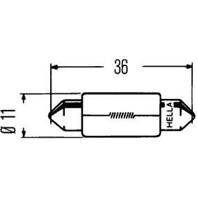 Крушка с нагреваема жичка 8GM 002 092-137