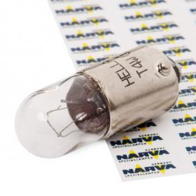 Glühlampe, Blinkleuchte T4W, BA9s, 24V, 4W 8GP 002 067-261
