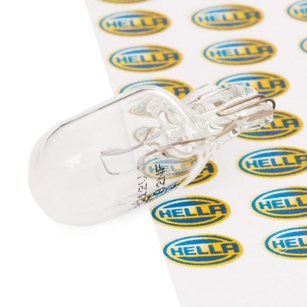 HELLA Ampoule, feu éclaireur de plaque 8GP 003 594-121