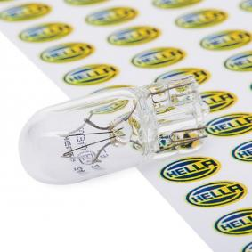 Крушка с нагреваема жичка, светлини за парк / позициониране W3W, 24волт, 3ват 8GP 003 594-241