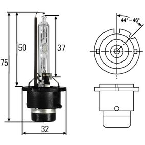 Glühlampe, Fernscheinwerfer mit OEM-Nummer 057 511 80