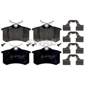 Bremsbelagsatz, Scheibenbremse Breite: 52,9mm, Dicke/Stärke 1: 16mm mit OEM-Nummer 8671016188