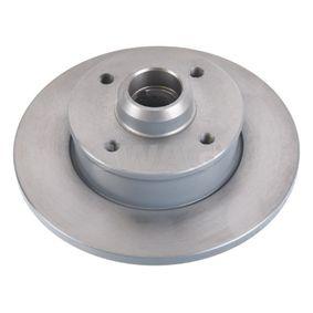 Bremsscheibe Bremsscheibendicke: 10mm, Ø: 226,0mm mit OEM-Nummer 6N0.615.601
