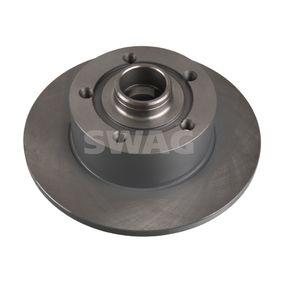 Bremsscheibe Bremsscheibendicke: 10mm, Ø: 245,0mm mit OEM-Nummer 8D0 615 301B