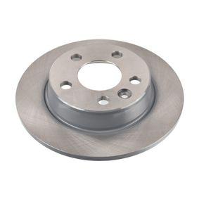 Bremsscheibe Bremsscheibendicke: 9,8mm, Ø: 267,8mm mit OEM-Nummer 1137985