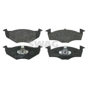 2012 Skoda Fabia Mk2 1.2 Brake Pad Set, disc brake 30 91 6044