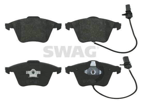 SWAG  30 91 6586 Bremsbelagsatz, Scheibenbremse Breite: 72,9mm, Dicke/Stärke 1: 20mm