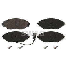 Brake Pad Set, disc brake Width: 69,0mm, Thickness 1: 20mm with OEM Number 3C0 698 151G