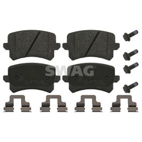 Bremsbelagsatz, Scheibenbremse Breite: 56,4mm, Dicke/Stärke 1: 17mm mit OEM-Nummer 3AA698451A