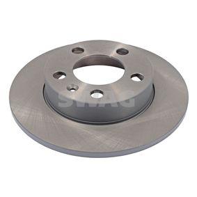 Bremsscheibe Bremsscheibendicke: 9mm, Ø: 230,0mm mit OEM-Nummer 1J0 615 601P