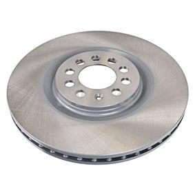 Bremsscheibe Bremsscheibendicke: 25mm, Ø: 312,0mm mit OEM-Nummer 8N0615301A