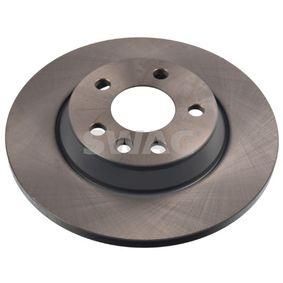 Bremsscheibe Bremsscheibendicke: 13,5mm, Ø: 294,0mm mit OEM-Nummer 7D0 615 601 C