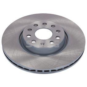 Bremsscheibe Bremsscheibendicke: 25mm, Ø: 312,0mm mit OEM-Nummer 1K0615301AA