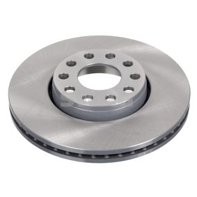 Bremsscheibe Bremsscheibendicke: 25mm, Ø: 288,0mm mit OEM-Nummer 4B0 615 301 B