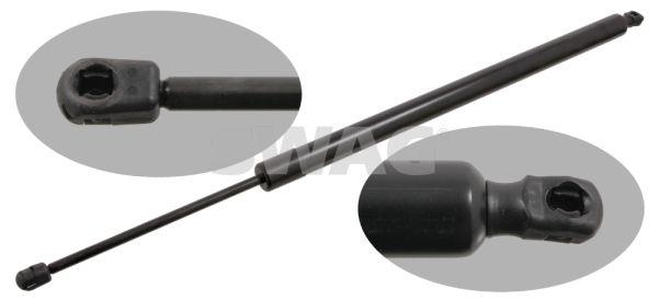 SWAG  30 92 9442 Heckklappendämpfer / Gasfeder Gehäuselänge: 518mm, Länge: 755mm, Hub: 206mm