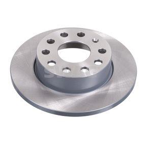 Bremsscheibe Bremsscheibendicke: 12mm, Ø: 256,0mm mit OEM-Nummer 1K0 615 601 AC