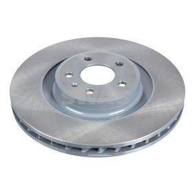 Brake Disc Brake Disc Thickness: 29,5mm, Ø: 345,0mm with OEM Number 8K0615301K