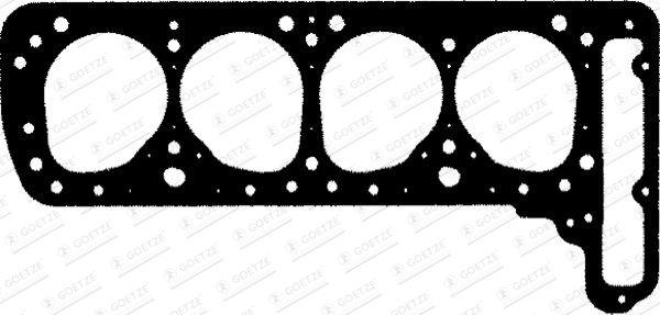 GOETZE  30-024066-20 Dichtung, Zylinderkopf