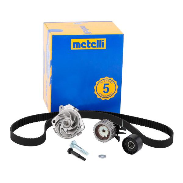 Timing belt kit and water pump 30-0672-1 METELLI 240672 original quality