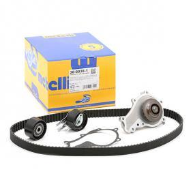 Water pump and timing belt kit 30-0938-1 206 Hatchback (2A/C) 1.6 HDi 110 MY 2007