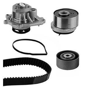 Water pump and timing belt kit with OEM Number 55574864