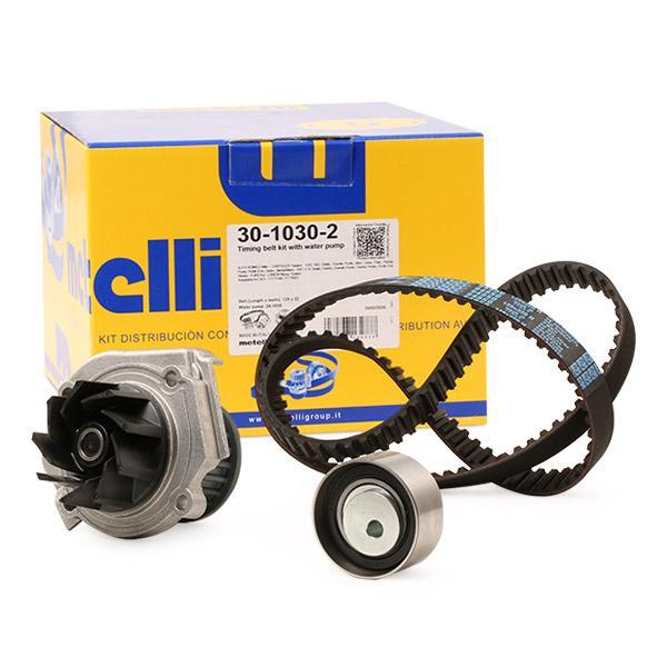Timing belt and water pump kit METELLI 30-1030-2 expert knowledge