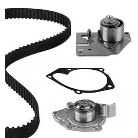 Water pump and timing belt kit with OEM Number 7701 474 443