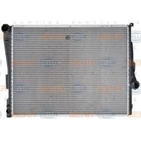 Radiateur, refroidissement du moteur avec OEM numéro 17 11 1 611 573