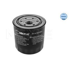 Oil Filter 30-14 322 0001 RAV 4 II (CLA2_, XA2_, ZCA2_, ACA2_) 2.0 D 4WD (CLA20_, CLA21_) MY 2001